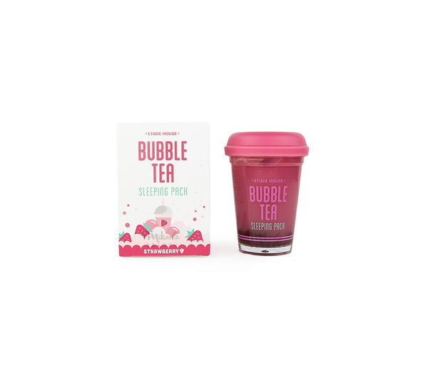 ETUDE HOUSE Bubble Tea Sleeping Pack Strawberry Korean Skincare Canada