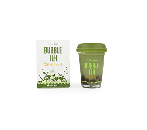 ETUDE HOUSE Bubble Tea Sleeping Pack Green Tea Korean Skincare Canada