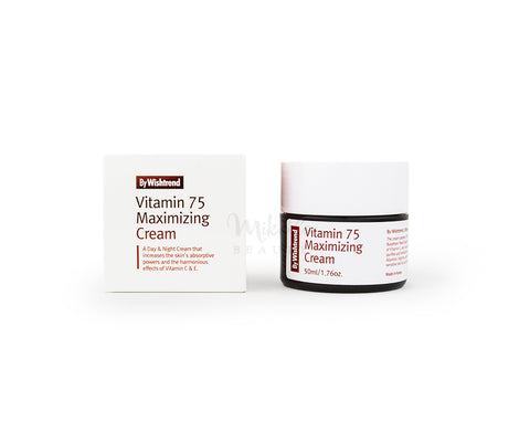 BY WISHTREND Vitamin 75 Maximizing Cream | Korean Skincare Canada