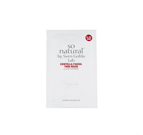 SO NATURAL - Centella Facial Thin Mask | Canada & USA | Mikaela Beauty