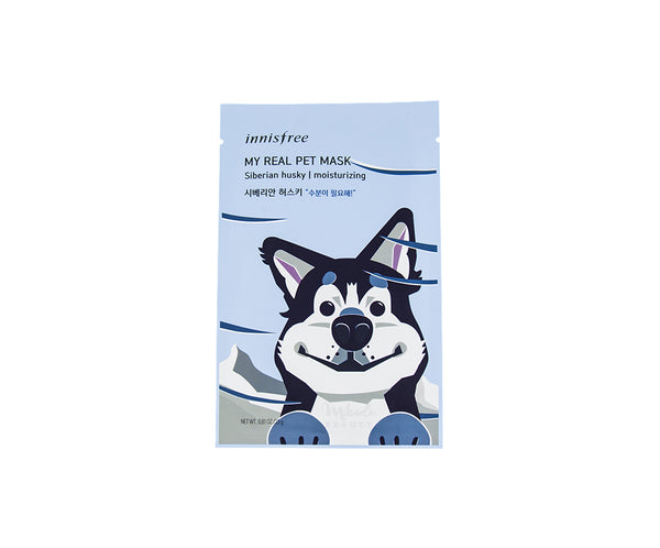 INNISFREE My Real Pet Mask Siberian Husky | Canada  | Mikaela Beauty