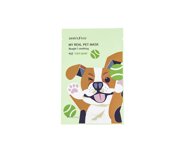 INNISFREE My Real Pet Mask - Beagle | Canada & USA | Mikaela Beauty