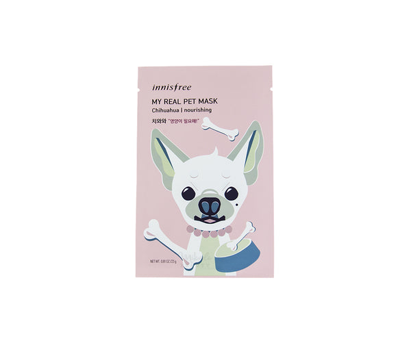INNISFREE My Real Pet Mask - Chihuahua | Canada & USA | Mikaela Beauty