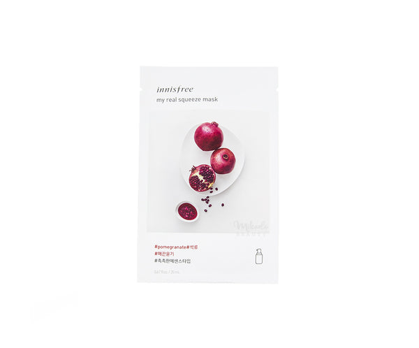 INNISFREE My Real Squeeze Mask Pomegranate | Korean Skincare Canada