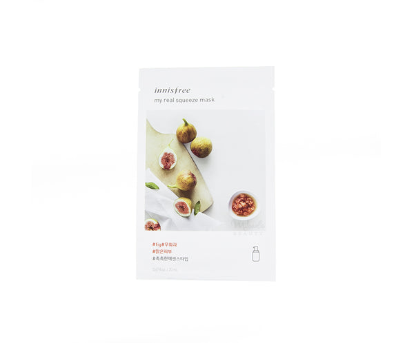 INNISFREE My Real Squeeze Mask Fig |  Korean Skincare Canada Mikaela