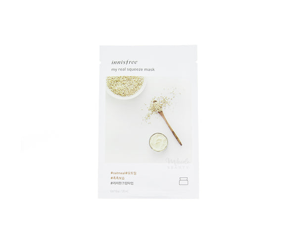 INNISFREE My Real Squeeze Mask Oatmeal | Korean Skincare Canada