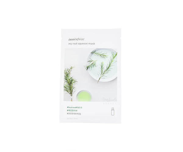 INNISFREE My Real Squeeze Mask Tea Tree | Korean Skincare Canada