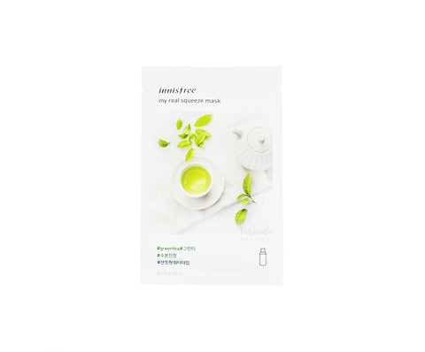 INNISFREE My Real Squeeze Mask Green Tea | Korean Skincare Canada