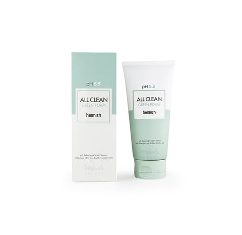HEIMISH All Clean Green Foam pH 5.5 | Korean Skincare | Canada & USA