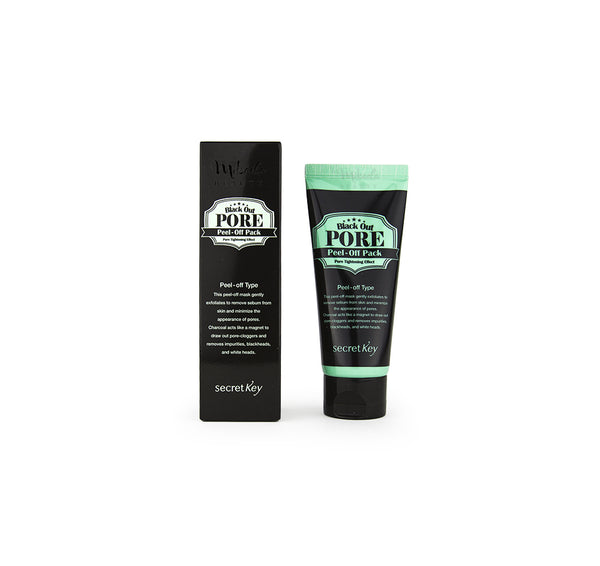 SECRET KEY Black Out Pore Peel Off Pack Korean Skincare Canada Mikaela