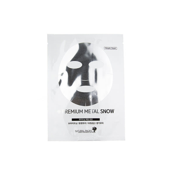 NATURAL PACIFIC Premium Metal Snow Mask | Korean Skincare Canada & USA