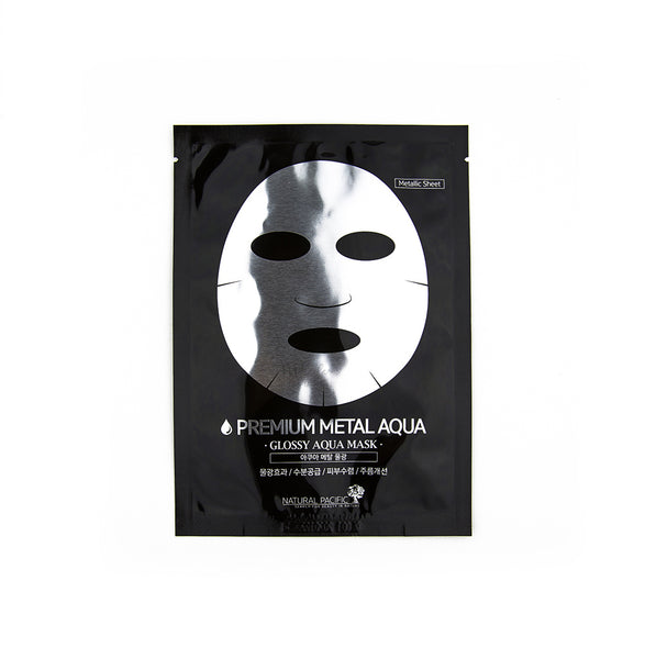 NATURAL PACIFIC Premium Metal Aqua Mask | Korean Skincare Canada & USA