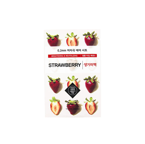 ETUDE HOUSE 0.2 Therapy Air Mask Strawberry | Korean Skincare Canada