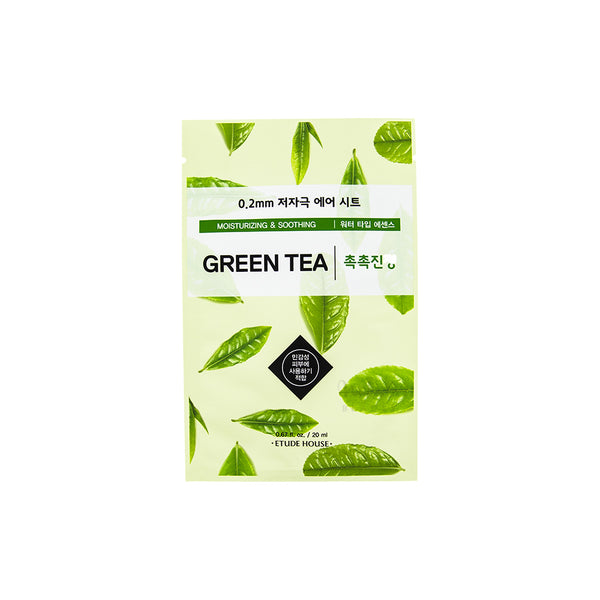 ETUDE HOUSE 0.2 Therapy Air Mask Green Tea | Korean Skincare Canada