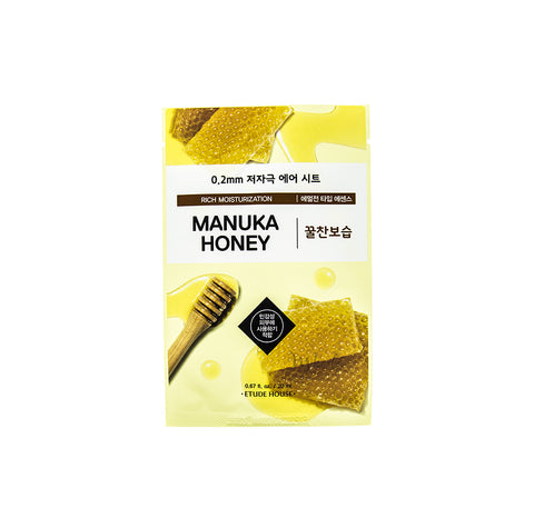 ETUDE HOUSE 0.2 Therapy Air Mask Manuka Honey | Korean Skincare Canada