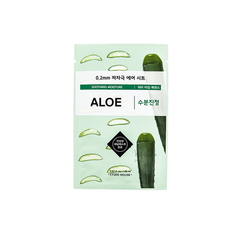 ETUDE HOUSE 0.2 Therapy Air Mask Aloe | Korean Skincare | Mikaela