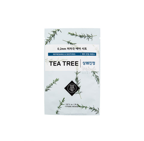 ETUDE HOUSE 0.2 Therapy Air Mask Tea Tree | Korean Skincare Canada