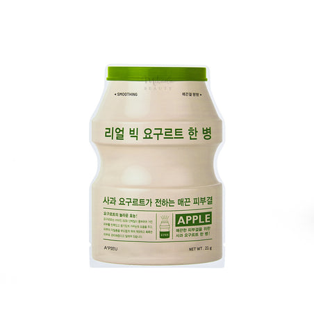 A'PIEU Real Big Yogurt One Bottle Apple | Korean Skincare Canada
