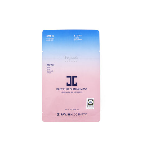 JAYJUN Baby Pure Shining Mask | Korean Skincare Canada Mikaela Beauty