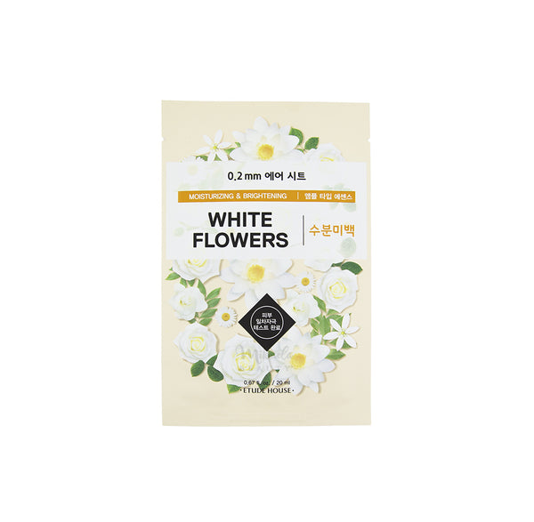 ETUDE HOUSE Therapy Air Mask White Flowers | Korean Skincare Canada