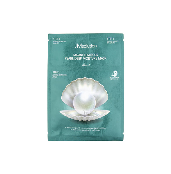 JM SOLUTION Marine Luminous Pearl Deep Moisture Mask | Korean Skincare
