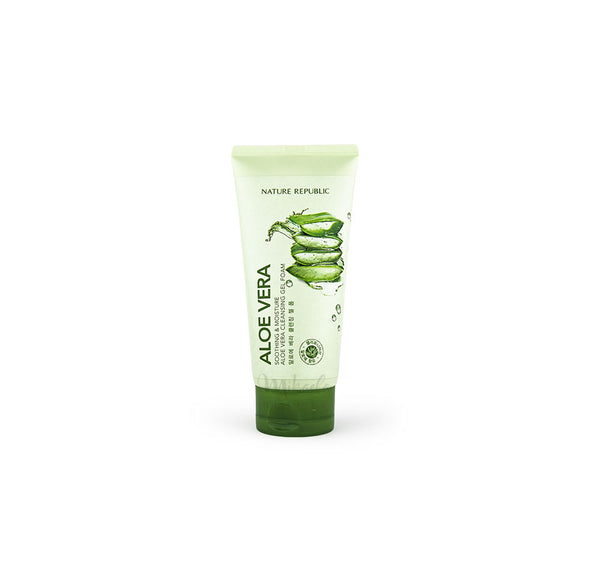 NATURE REPUBLIC Soothing Moisture Aloe Vera Cleansing Foam Canada
