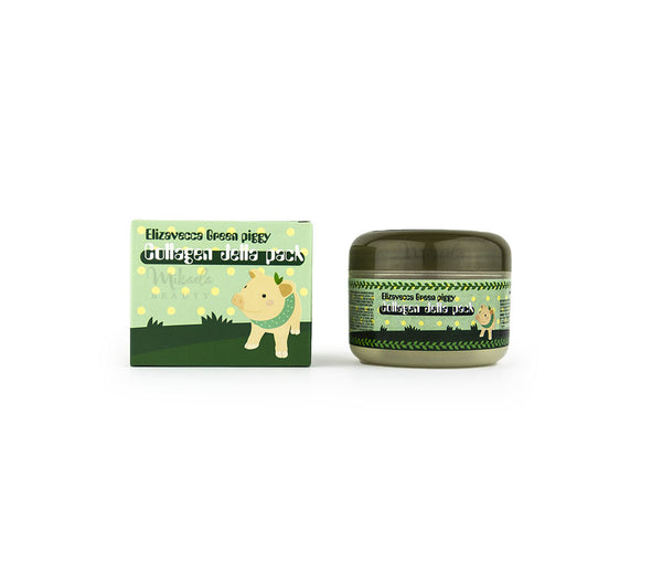 ELIZAVECCA Green Piggy Collagen Jella Pack | Korean Skincare Canada