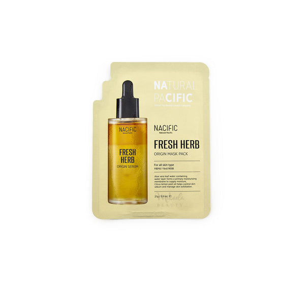 NACIFIC Fresh Herb Origin Mask Pack | Korean Skincare Canada | Mikaela