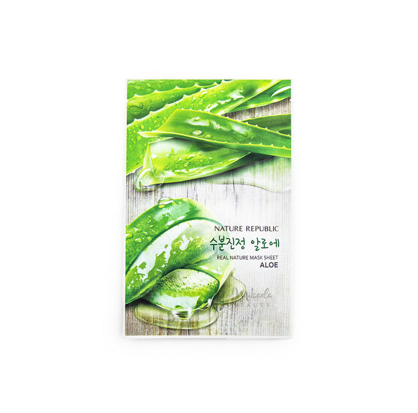NATURE REPUBLIC Real Nature Mask Sheet Aloe | Korean Skincare Canada