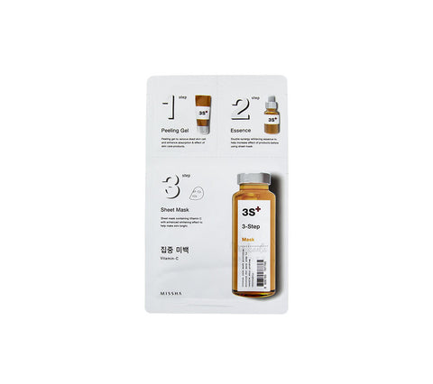 MISSHA 3-Step Brightening Mask Vitamin-C | Korean Skincare Canada