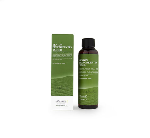 BENTON Deep Green Tea Toner | Korean Skincare Cosmetics Canada