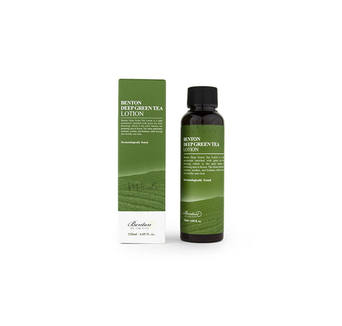 BENTON Deep Green Tea Lotion | Korean Skincare Cosmetics Canada