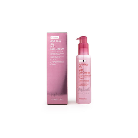 BY WISHTREND Acid-duo 2% Mild Gel Cleanser | Korean Skincare Canada