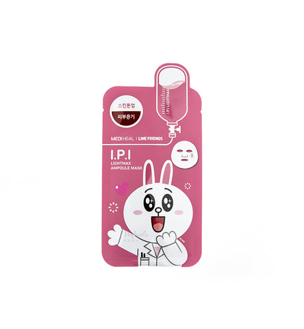 MEDIHEAL Line Friends Mask I.P.I Lightmax | Korean Skincare Canada