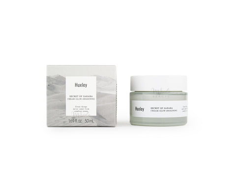 HUXLEY Glow Awakening Cream Canada | Korean Skincare | Mikaela Beauty