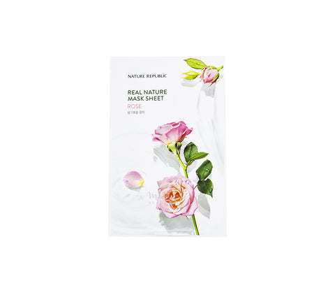 NATURE REPUBLIC Real Nature Mask Rose Canada | Korean Skincare