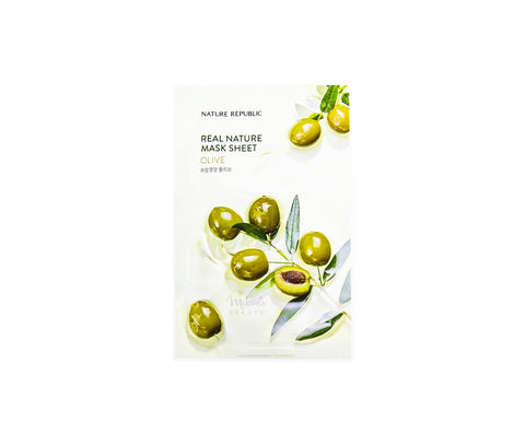 NATURE REPUBLIC Real Nature Mask Olive Canada | Korean Skincare