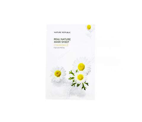 NATURE REPUBLIC Real Nature Mask Chamomile Canada | Korean Skincare