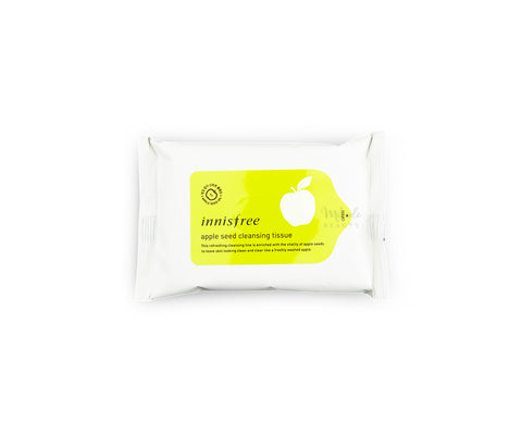 INNISFREE Apple Seed Cleansing Tissue Canada | Korean Skincare Mikaela