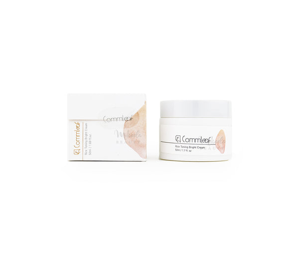 COMMLEAF Rice Toning Bright Cream Canada | Korean Skincare | Mikaela