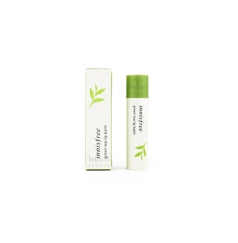 INNISFREE Green Tea Lip Balm Canada | Korean Skincare | Mikaela Beauty