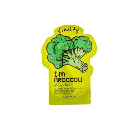 TONYMOLY I'm Broccoli Mask Sheet (Vitality) | Korean Skincare Canada