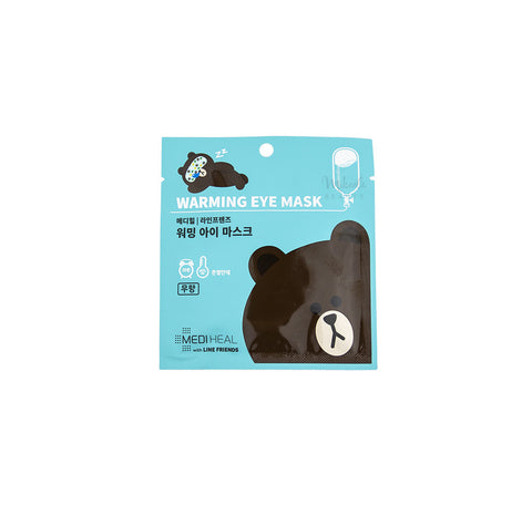 MEDIHEAL Line Friends Warming Eye Mask | Korean Skincare Canada