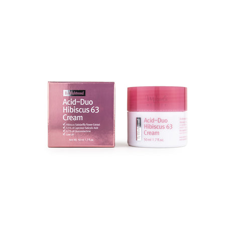 BY WISHTREND Acid-Duo Hibiscus 63 Cream Canada | Korean Skincare