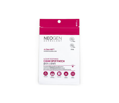 NEOGEN A-Clear Soothing Clear Spot Patch Canada | Korean Skincare