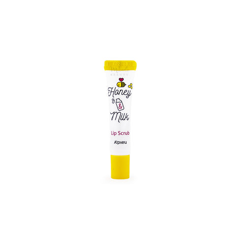 A'PIEU Honey & Milk Lip Scrub Canada | Korean Skincare | Mikaela