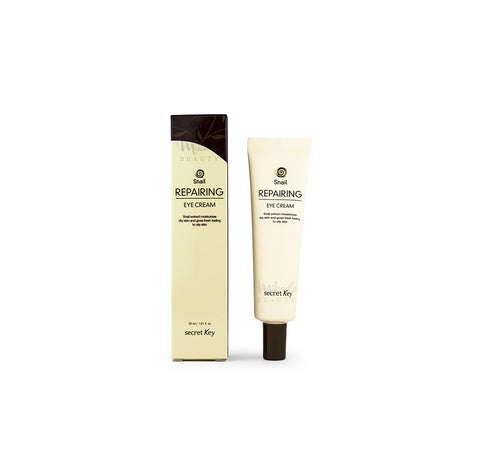 SECRET KEY Snail Repairing Eye Cream Canada | Korean Skincare Mikaela