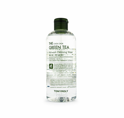 TONYMOLY Chok Chok Green Tea Cleansing Water | Korean Skincare Canada