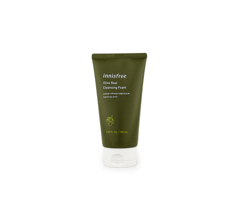 INNISFREE Olive Real Cleansing Foam Canada | Korean Skincare | Mikaela