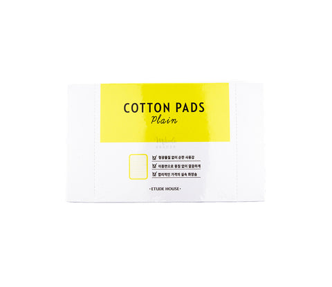 ETUDE HOUSE Plain Cotton Pads Canada | Korean Skincare Mikaela Beauty